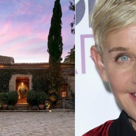 Ellen Degeneres vend sa somptueuse maison de 45 millions de dollars...