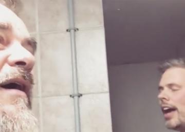Une vidéo de JF Breau et Sylvain Cossette dans la douche fait réagir sur les réseaux sociaux!