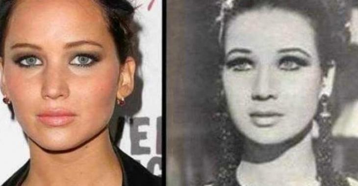 22 photos de célébrités et de leurs jumeaux du passé, c'est hallucinant!