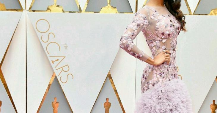 Cette célèbre animatrice porte-elle la robe la plus sexy des Oscars 2017?