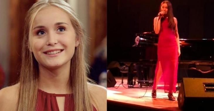 Sophia-Rose Boulanger chante Édith Piaf et c'est tout simplement magnifique...