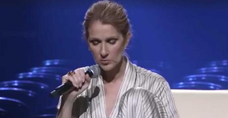 Céline craque et fond en larmes pendant sa première québécoise...
