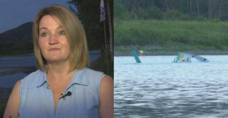 Accident d'hélicoptère fatal pour Bob Bissonette: une femme témoigne...