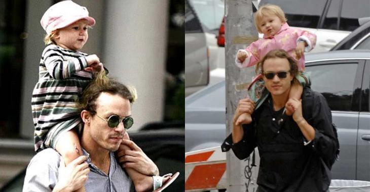 10 ans après la mort de son père, la fille d'Heath Ledger lui ressemble comme deux gouttes d'eau!