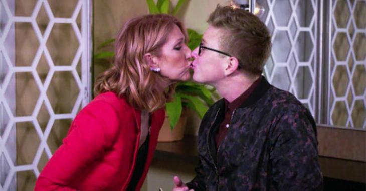 Vidéo – Céline Dion embrasse cette star du Web sur la bouche !!!