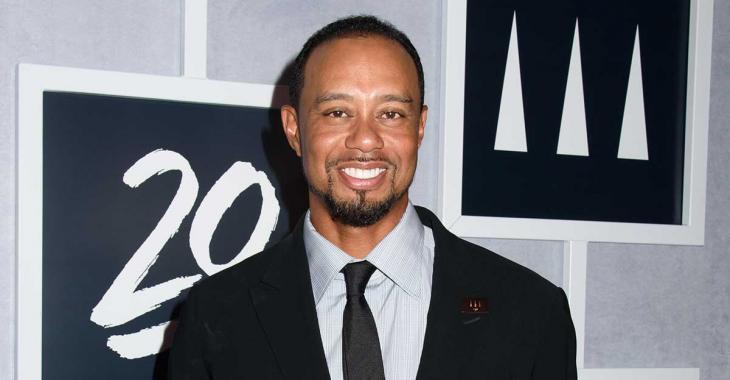 Tiger Woods s'est fait une nouvelle blonde... et c'est tout un pétard!