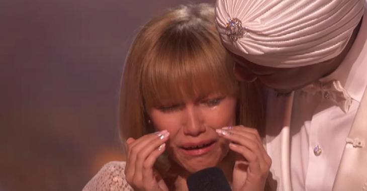 À 12 ans, elle remporte la grande finale d'America's Got Talent. Sa réaction est bouleversante!