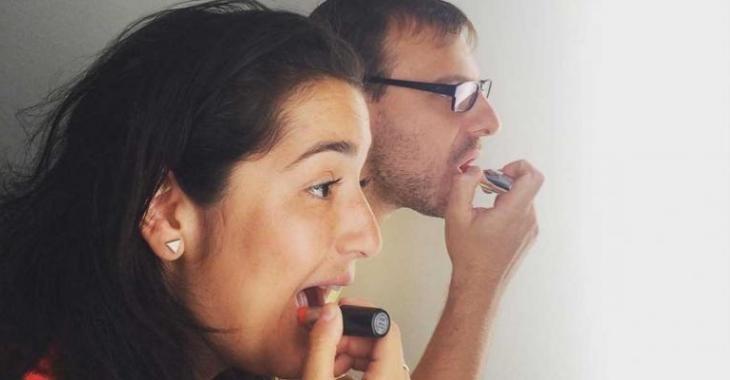 """Le """"gloss à lèvres"""" de Mariana Mazza ne fait pas du tout l'unanimité..."""