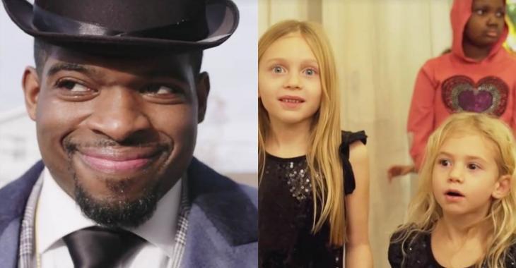 Avec l'aide d'enfants malades de Montréal, PK fait toute une surprise à des enfants malades de Nashville!