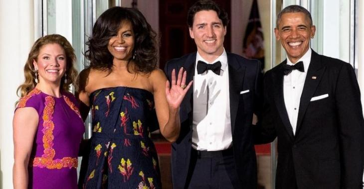 Sophie Grégoire reçoit un luxueux cadeau de Michelle Obama!