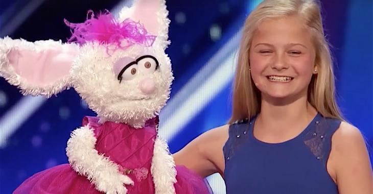Cette petite fille a charmé les juges avec sa voix hors du commun!