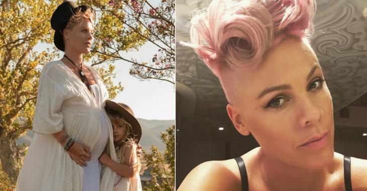 Pink vient d'accoucher... Son bébé fait FUREUR sur le web!