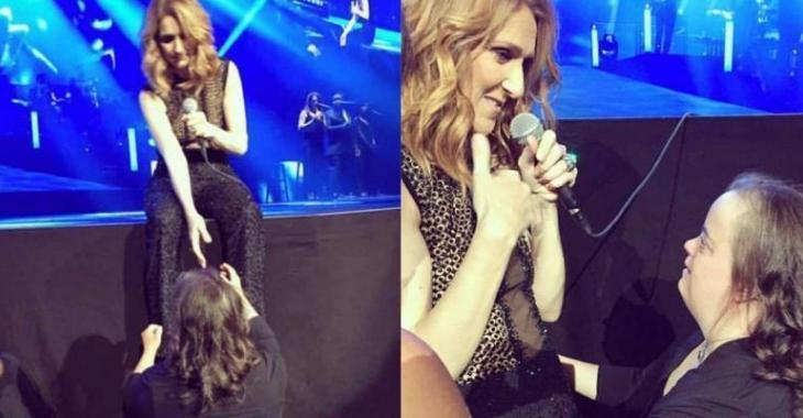 Un moment très émouvant survient pendant le show de Céline!