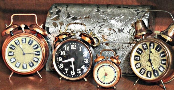 Reculez vos horloges en fin de semaine!