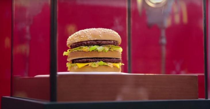 La dernière publicité de McDonald's risque de donner mal au coeur à plusieurs Québécois...