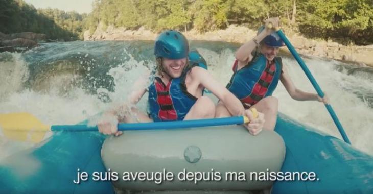 Tourisme Québec publie une vidéo sur un aveugle qui fait le tour du Québec et c'est trop émouvant!