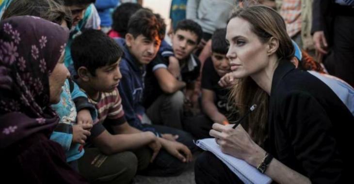 Vidéo – Angelina Jolie lance un vibrant appel à la planète
