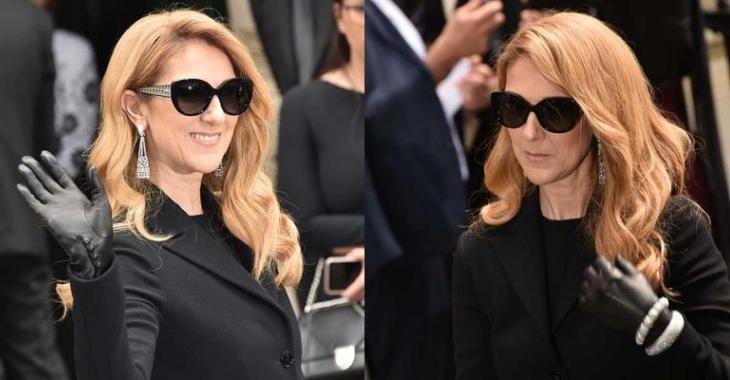 Céline Dion vole la vedette sur le tapis rouge... surtout ses talons hauts!