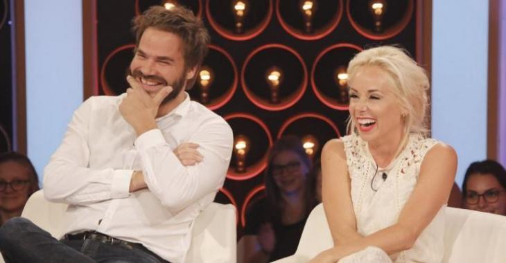 Mariloup Wolfe et Sébastien Huberdeau dévoilent un gros secret en direct à la télévision...