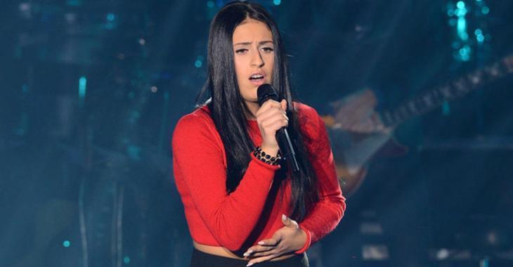 Angelike Falbo de «La Voix» s'est métamorphosée...