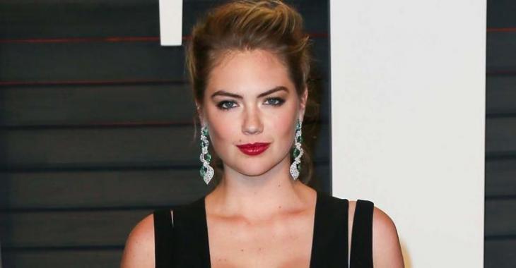 Le décolleté de Kate Upton vole la vedette au party des Oscars de Vanity Fair