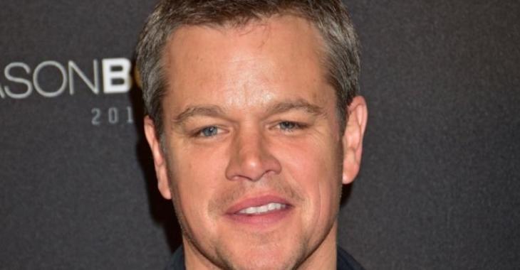 Matt Damon ne ressemble plus du tout à ça...