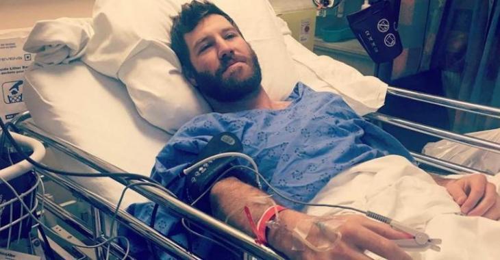 Brandon Prust est dans un piteux état!