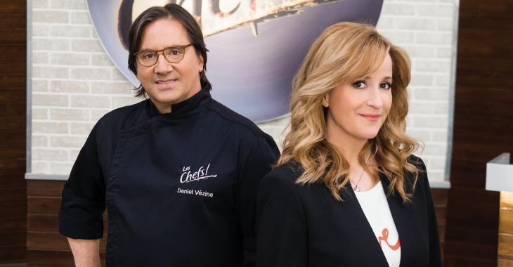 Ce soir à 20h, l'émission «Les Chefs» marquera l'histoire de la télévision québécoise