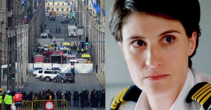 L'actrice Salomé Corbo a échappé de peu aux attentats terroristes de Bruxelles