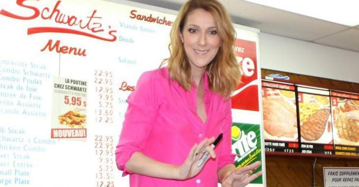 Le chandail de Céline Dion sème l'hystérie sur le web...