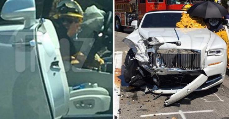Une star blessée dans un sévère accident de voiture à Los Angeles