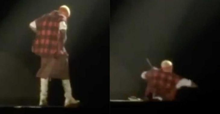 [VIDÉO] Justin Bieber se casse solidement la gueule en plein spectacle!