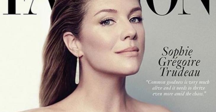Les photos élégantes et sexy de Sophie Grégoire-Trudeau dans un magazine!