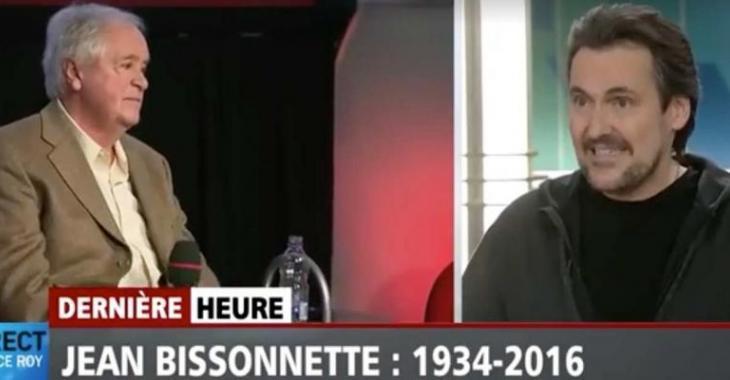 Décès d'un autre grand nom de la télé québécoise