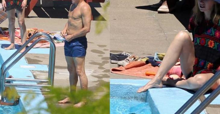 Deux célèbres acteurs prennent un bain de soleil au Québec!
