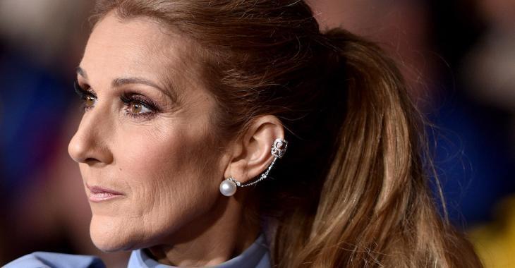 La robe bleue de Céline Dion fait tourner toutes les têtes!