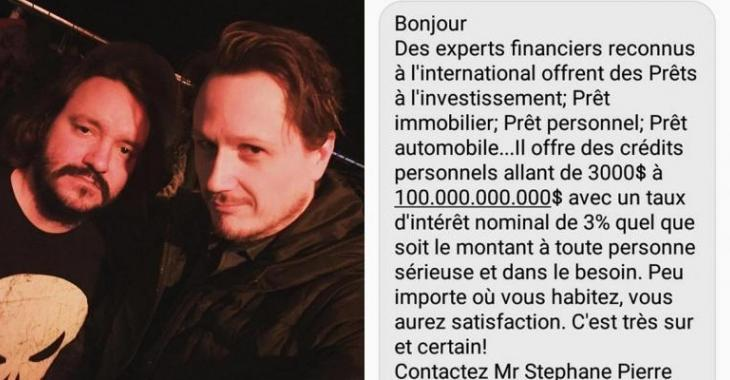 Un fraudeur essaie d'arnaquer un humoriste québécois, ça se retourne contre lui!