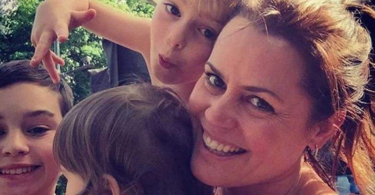 Patricia Paquin publie une touchante photo de son chum et ses enfants