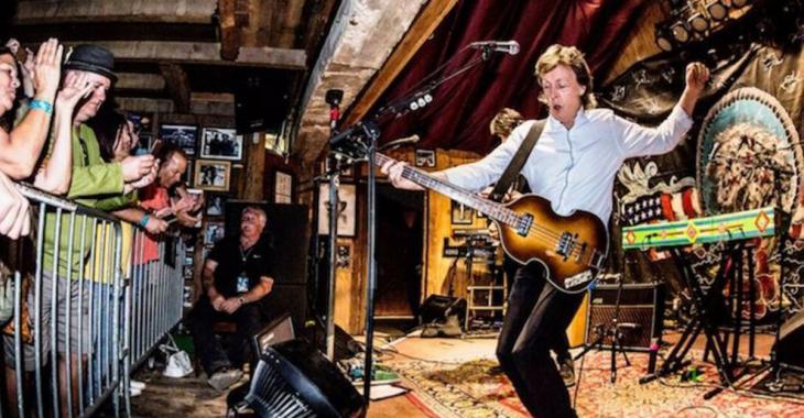 Deux Québécois faisaient partie des 300 spectateurs au concert privé de Paul McCartney!