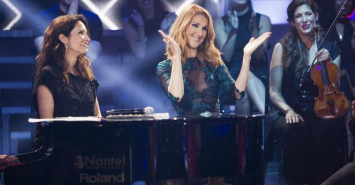 Céline Dion illumine les ondes de Radio-Canada !