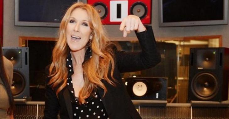 Céline Dion partage une vidéo très cocasse d'elle et ses trois gars!