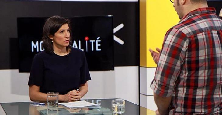 Une animatrice de télé québécoise congédiée car elle est blanche...