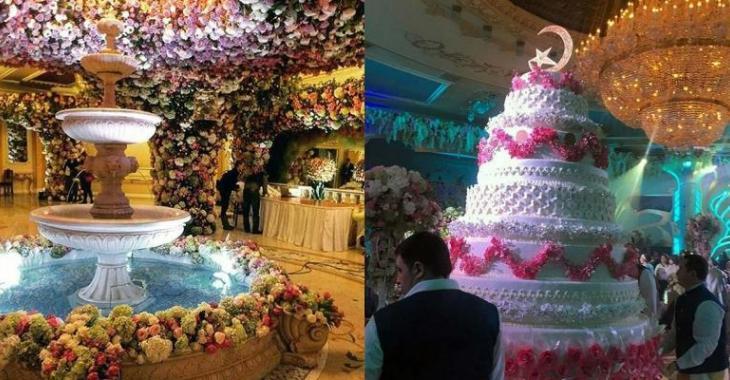 Le mariage le plus cher de l'histoire a été célébré en fin de semaine!