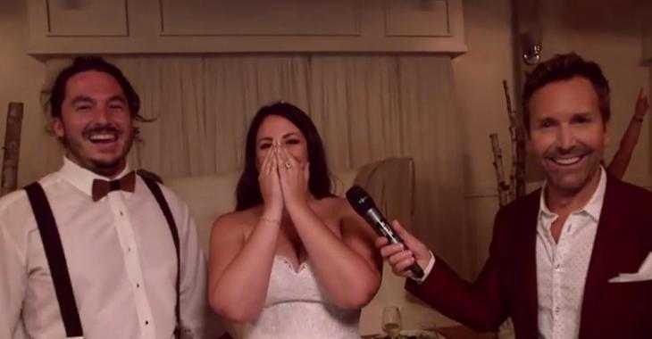 Éric Salvail fait une surprise INATTENDUE à des couples de mariés!
