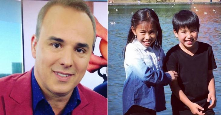 Gino Chouinard se confie avec émotion sur l'adoption de sa fille