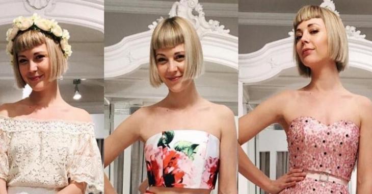Vanessa Pilon demande votre aide pour choisir la robe parfaite!