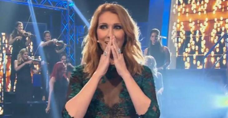 Que d'émotions pour Céline Dion à l'émission «En direct de l'univers» !