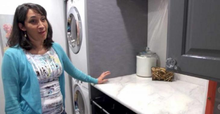 Pour moins de 400$, cette mère de 6 enfants construit une salle de lavage INCROYABLE!