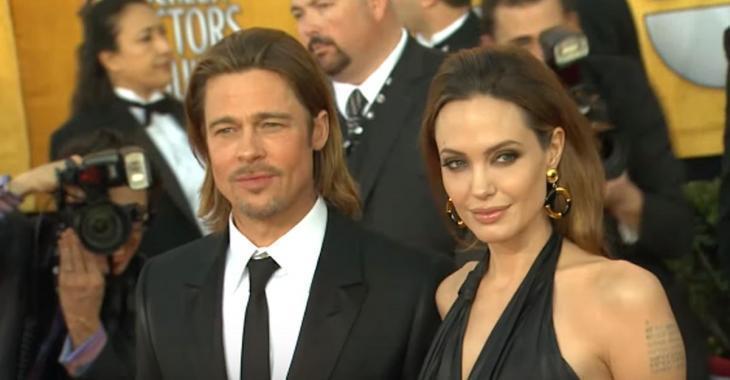 Angelina Jolie a demandé le divorce de Brad Pitt