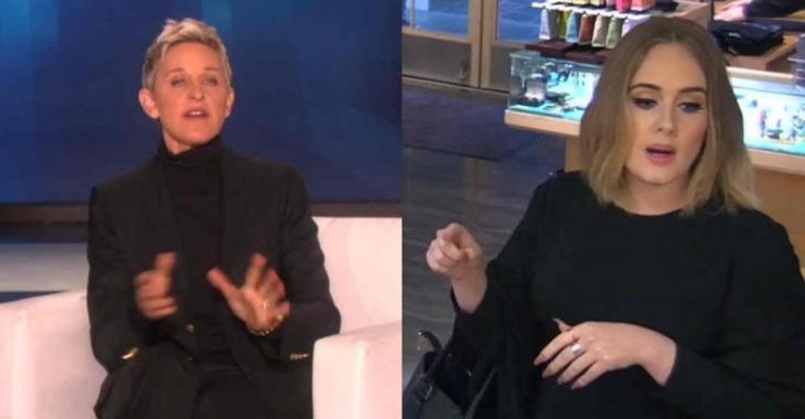La vidéo dont tout le monde parle: Ellen DeGeneres et Adele sont détestables dans un restaurant!